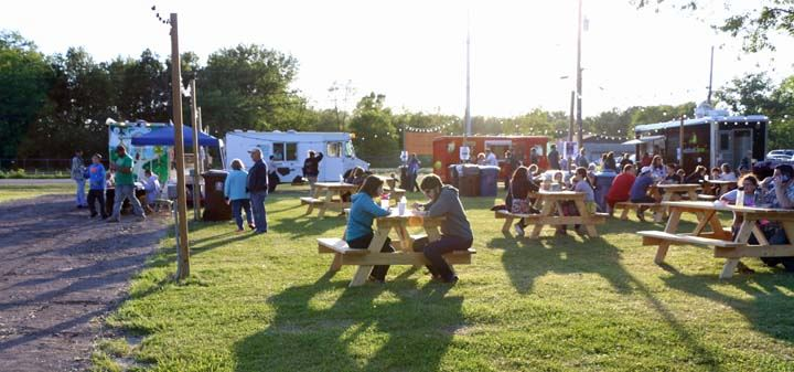 Burns Harbor Food Truck Square June 7, 2017