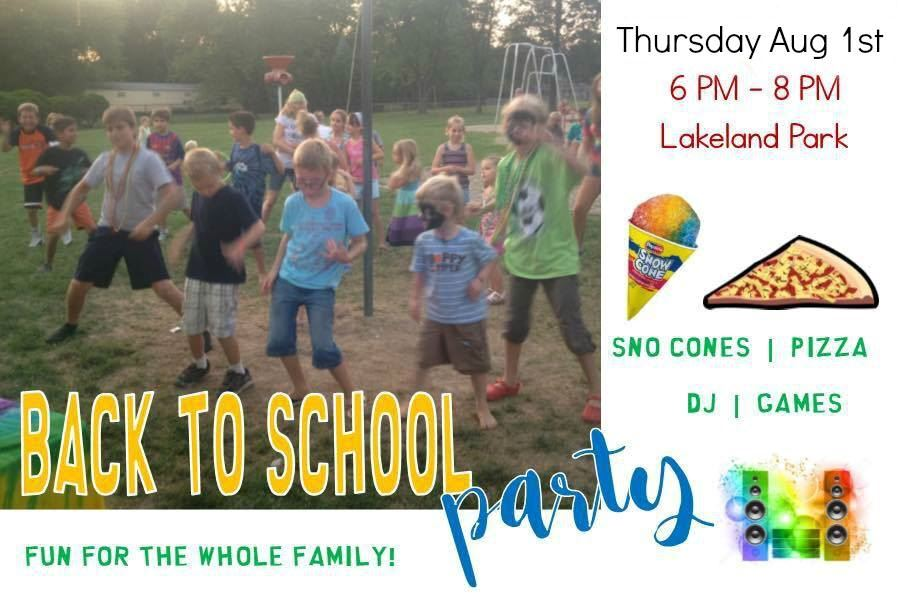 Back to School Party 2019